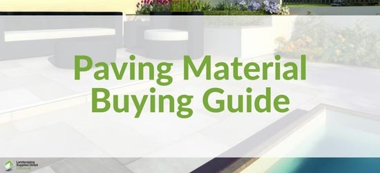 Paving Material Buying Guide Banner