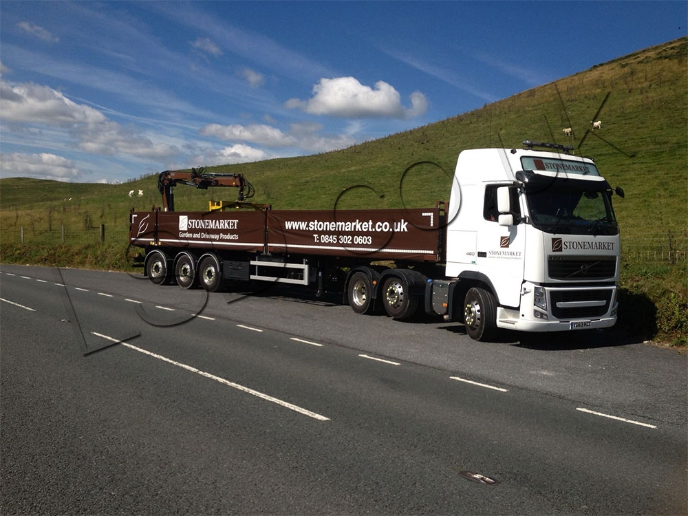 Stonemarket Direct to Site Drawbar Vehicle