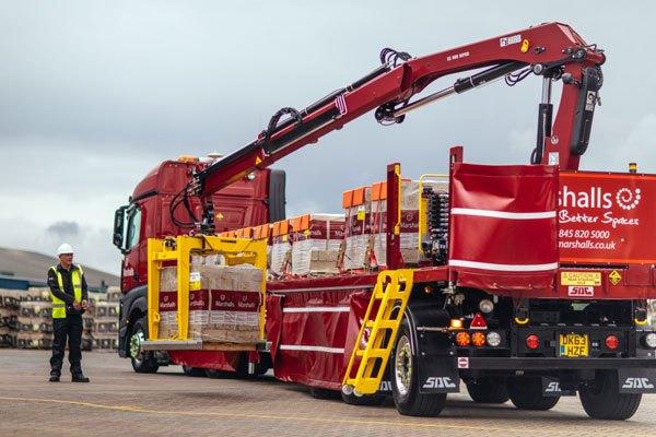 Marshalls Direct to Site Drawbar Vehicle